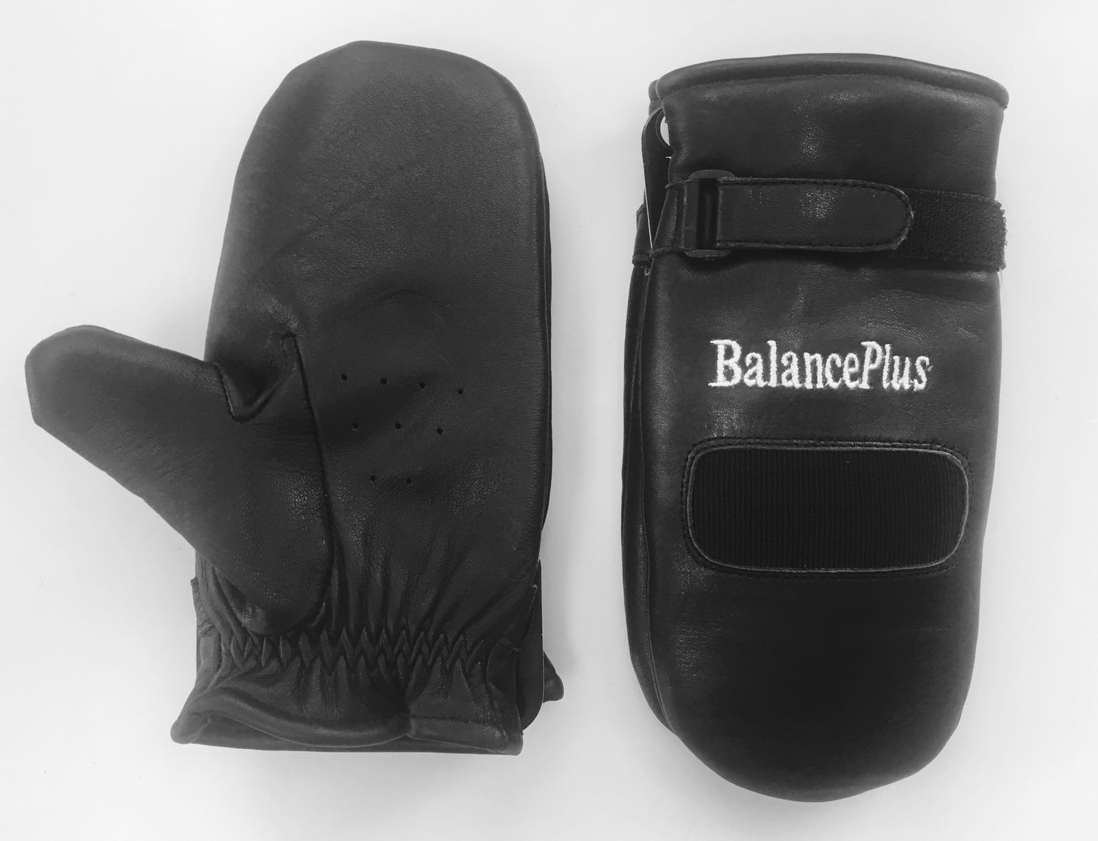 Balanceplus Leather Lined Mitts Unisex Wagners Curling