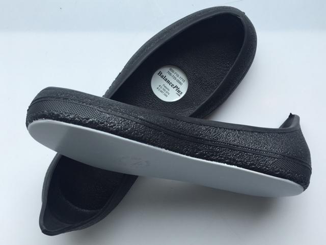 Balanceplus Black Pull On Slider Right Foot Wagners